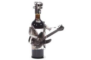 wijnverpakking gitarist