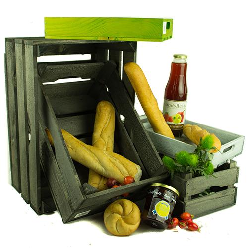 Landelijke Houten Kist.Veilingkist Oud Hout 39 5x26x18 Stoere Landelijke Kisten