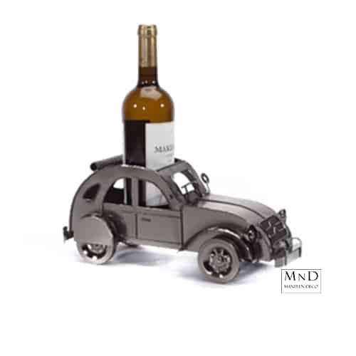 retro auto wijnfleshouder