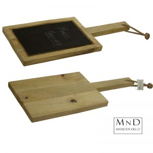 Mango plank blackboard
