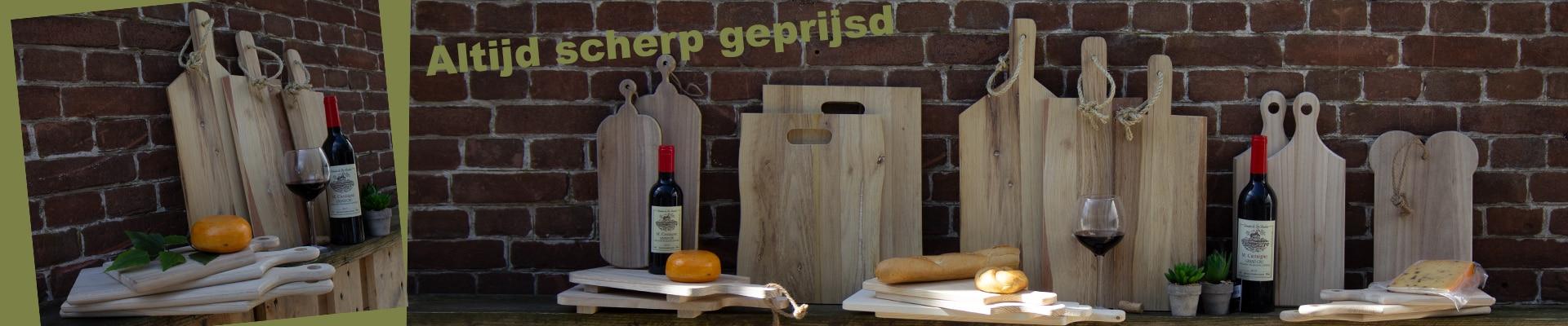 Kaasplanken voor verpakking van pakketten.