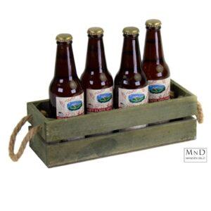 Kratje olijf voor 4 flesjes
