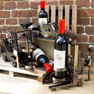 Fles-wijnverpakking
