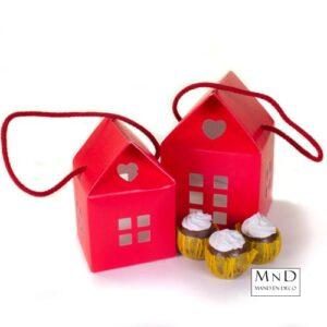 Kleine rode huisjes