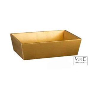 gouden kartonverpakking