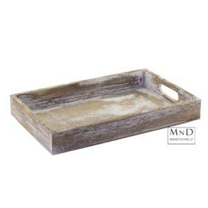 Dienblad white wash