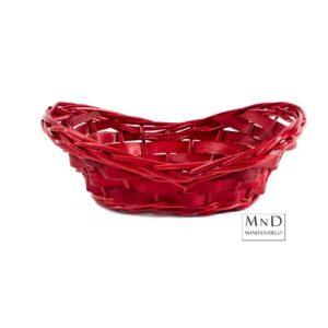 ovale mand rood