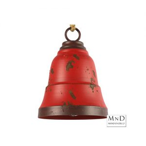 kerstbel rood