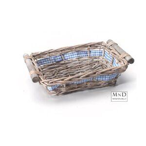 manden met blauwe strik